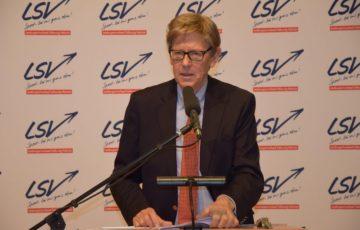 """LSV-Präsident Hans-Jakob Tiessen: """"Herausragendes Bekenntnis des Landes zum Vereinssport"""""""